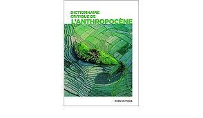 couverture du dictionnaire de l'Anthropocène