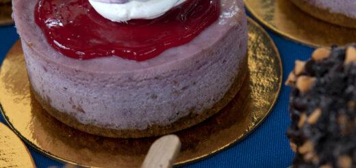 Gâteau végan au VegFest (USA).